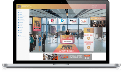Virtual Event Experience - Splash Page (new)