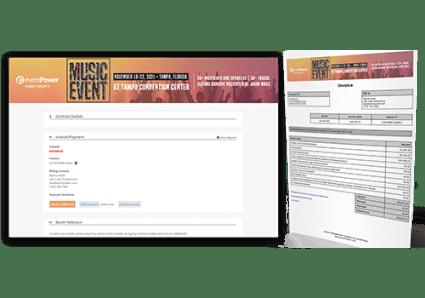 Exhibitors & Sponsors - Exhibitor Invoice