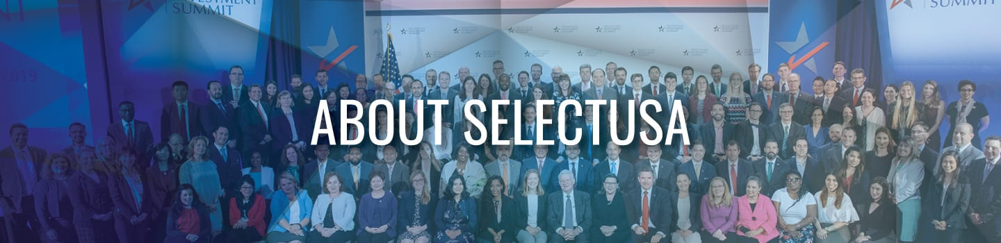 About SelectUSA Banner Graphic