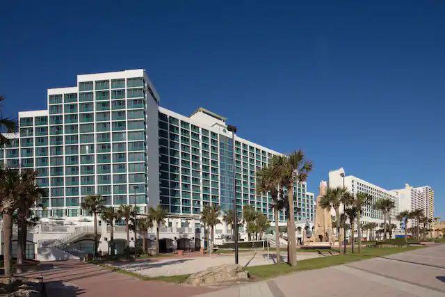 Beach Side Facade Hilton Daytona