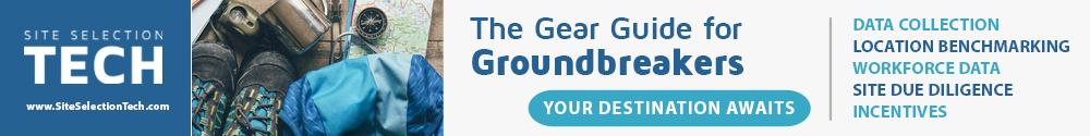 Site Selection Tech Sponsor Ad