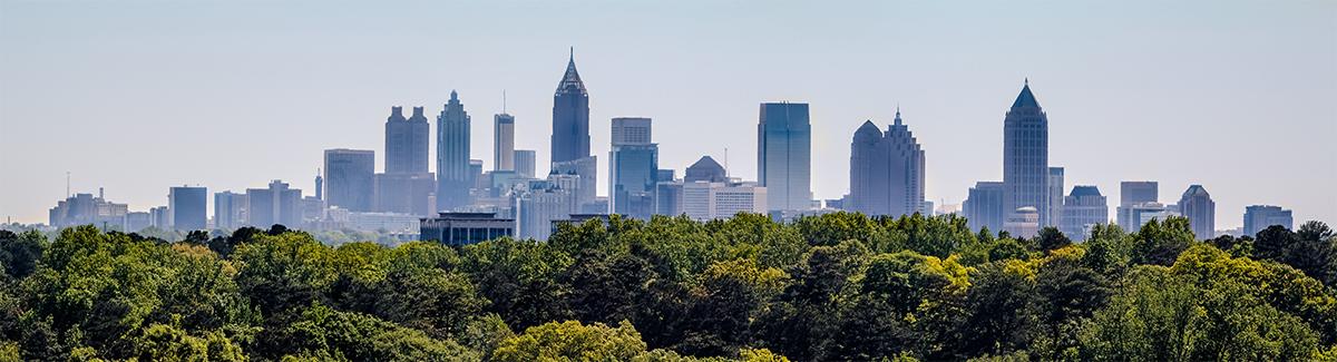 Atlanta, GA Skyline Photo